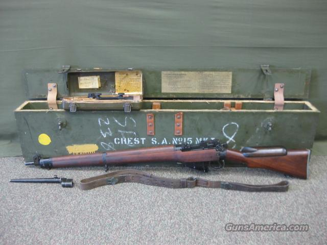 Enfield No4 Mk1-T 100% In Original Crate  Guns > Rifles > Enfield Rifle
