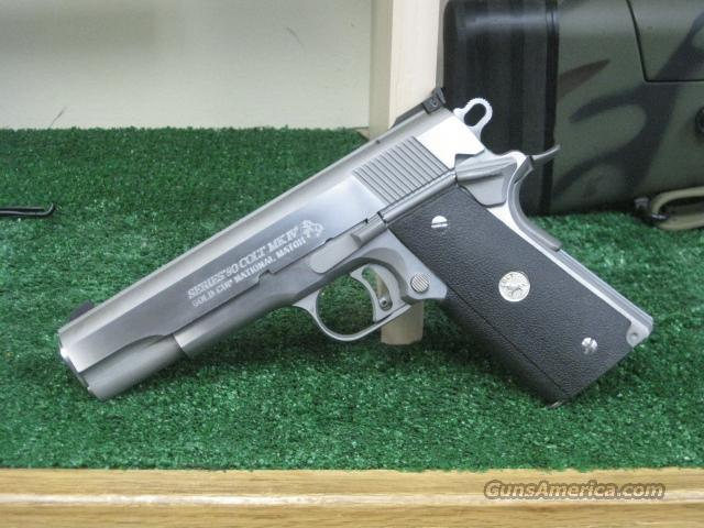 Colt Gold Cup .45acp Stainless AS NEW  Guns > Pistols > Colt Automatic Pistols (1911 & Var)
