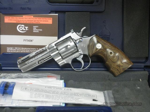"Colt Python ""Elite"" .357 Magnum NIB UNFIRED  Guns > Pistols > Colt Double Action Revolvers- Modern"
