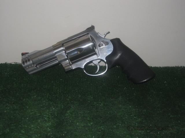 "Smith & Wesson M-500 4"" Stainless ANIB  Guns > Pistols > Smith & Wesson Revolvers > Full Frame Revolver"