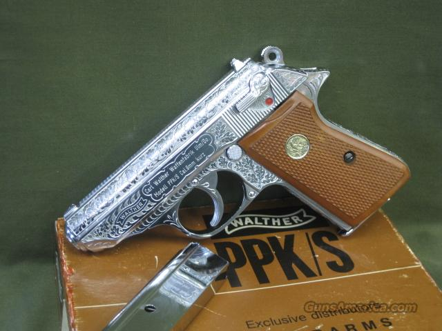 Walther PPK/S .380 Factory Engraved  Guns > Pistols > Walther Pistols > Post WWII > PP Series