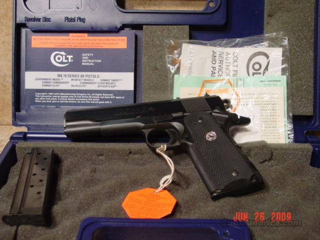 Colt Government Mark 4 9mm AS NEW  Guns > Pistols > Sig - Sauer/Sigarms Pistols > P228