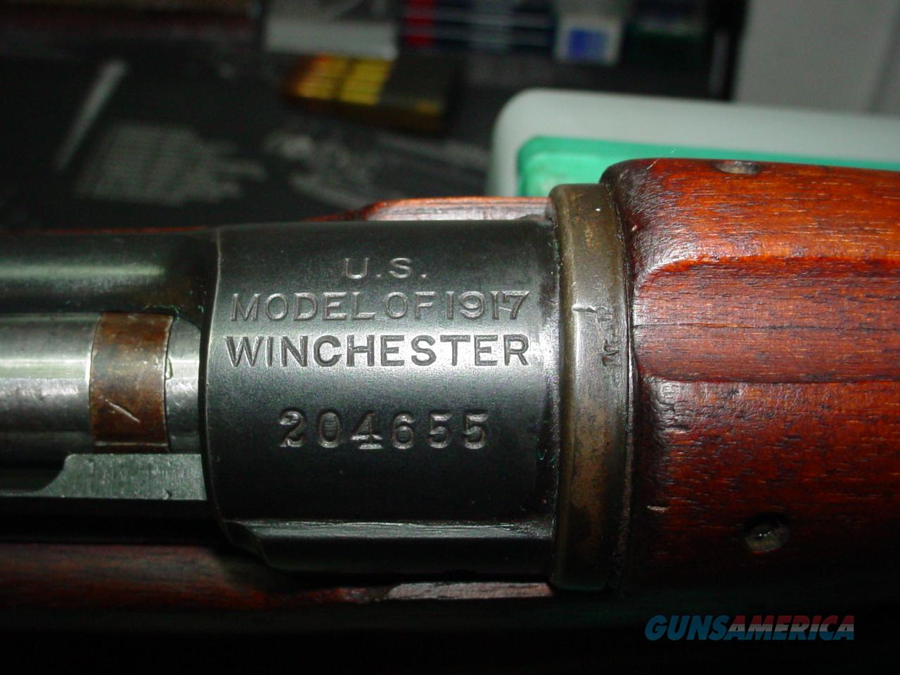 1917 WINCHESTER ENFIELD  Guns > Rifles > Military Misc. Rifles US > Model 1917 Variants