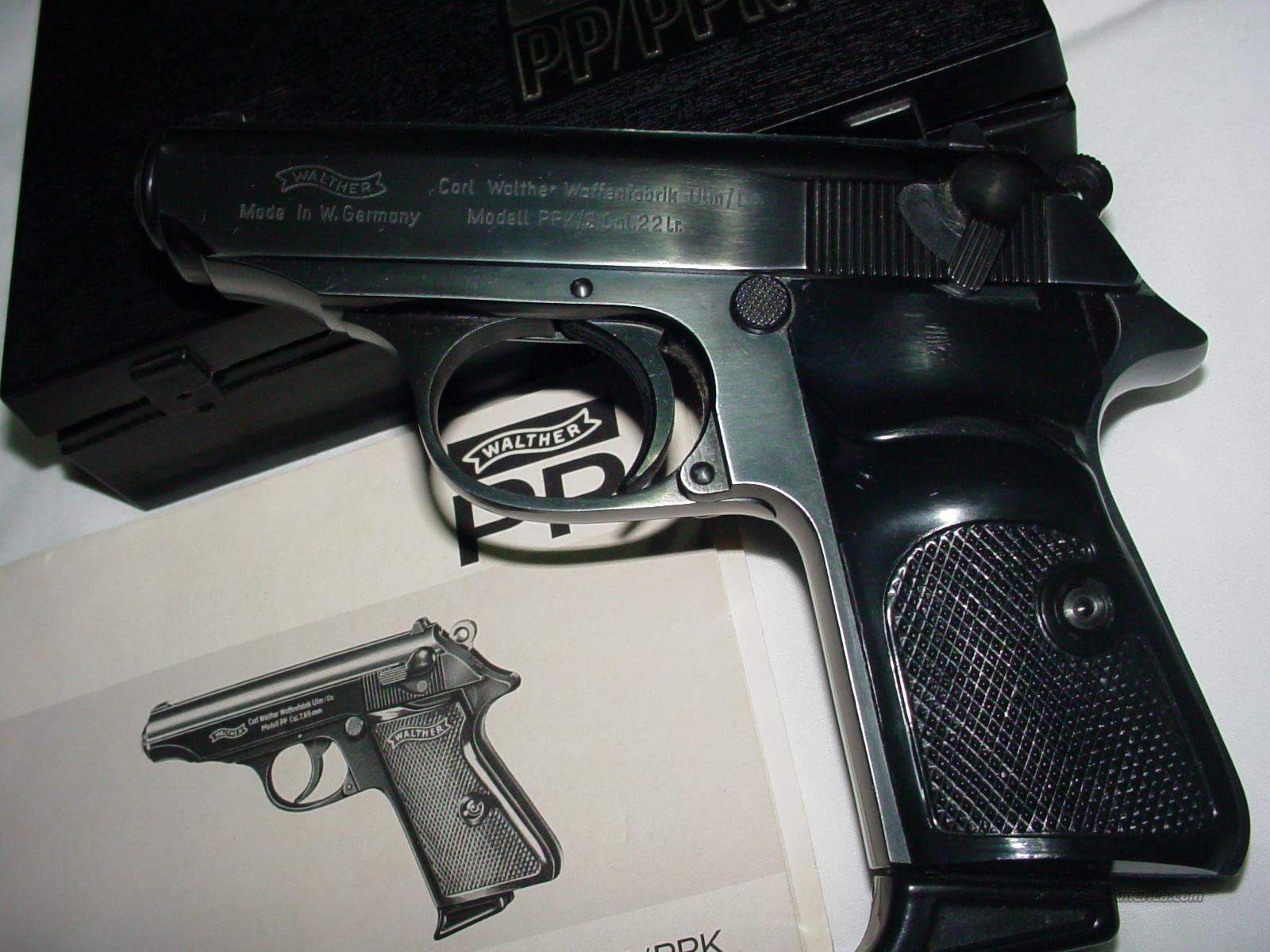 German Walther PPK/S .22lr  Guns > Pistols > Walther Pistols > Post WWII > PPK Series