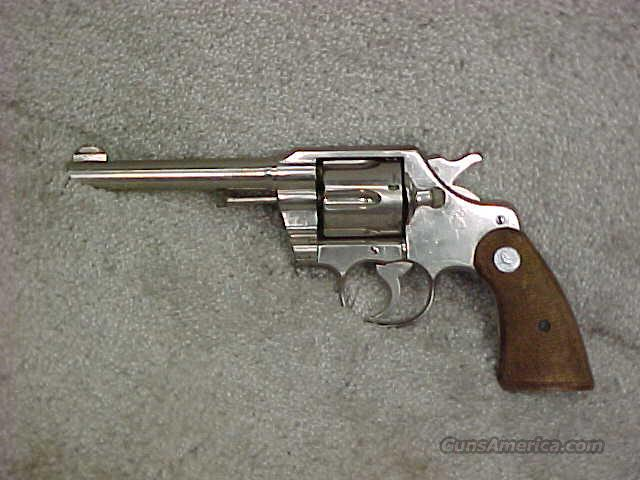 Colt, Army Special, Cal.38 Special  Guns > Pistols > Colt Double Action Revolvers- Pre-1945