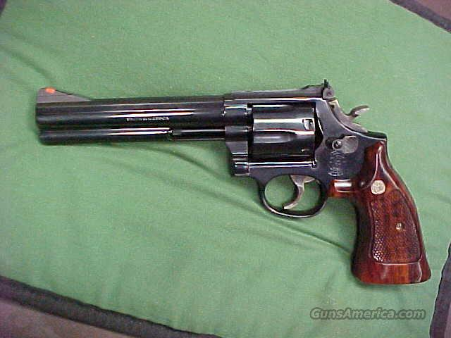 Smith & Wesson, Model 586, Cal.357 Magnum  Guns > Pistols > Smith & Wesson Revolvers > Full Frame Revolver