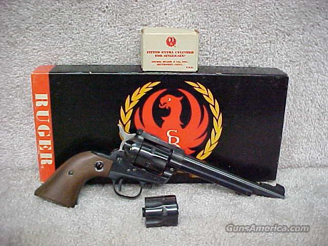 Ruger, Model: Single-Six, .22LR Cyl., 22Mag Cyl.  Guns > Pistols > Ruger Single Action Revolvers > Single Six Type