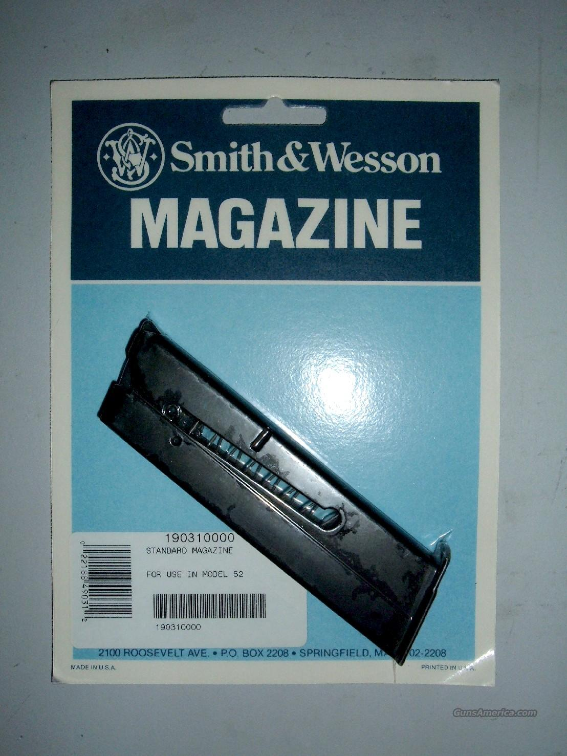 S&W Model 52 Magazine  Non-Guns > Magazines & Clips > Pistol Magazines > Smith & Wesson