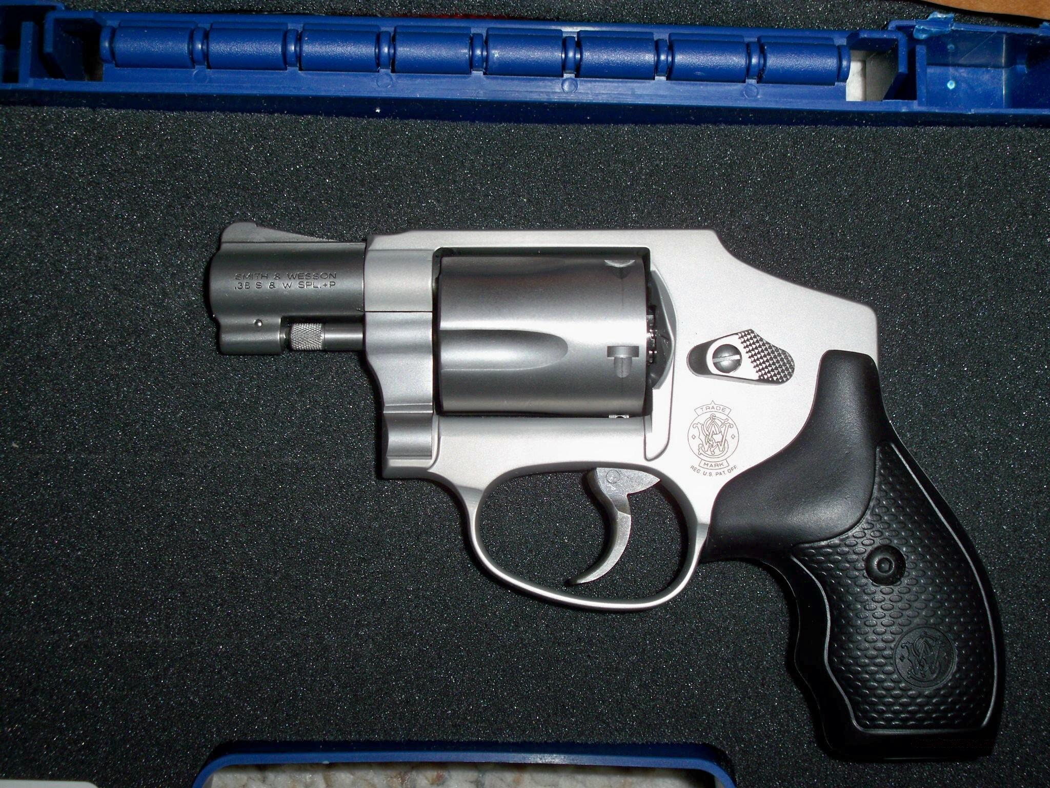 S&W 642 STAINLESS NO INTERNAL LOCK  Guns > Pistols > Smith & Wesson Revolvers > Pocket Pistols