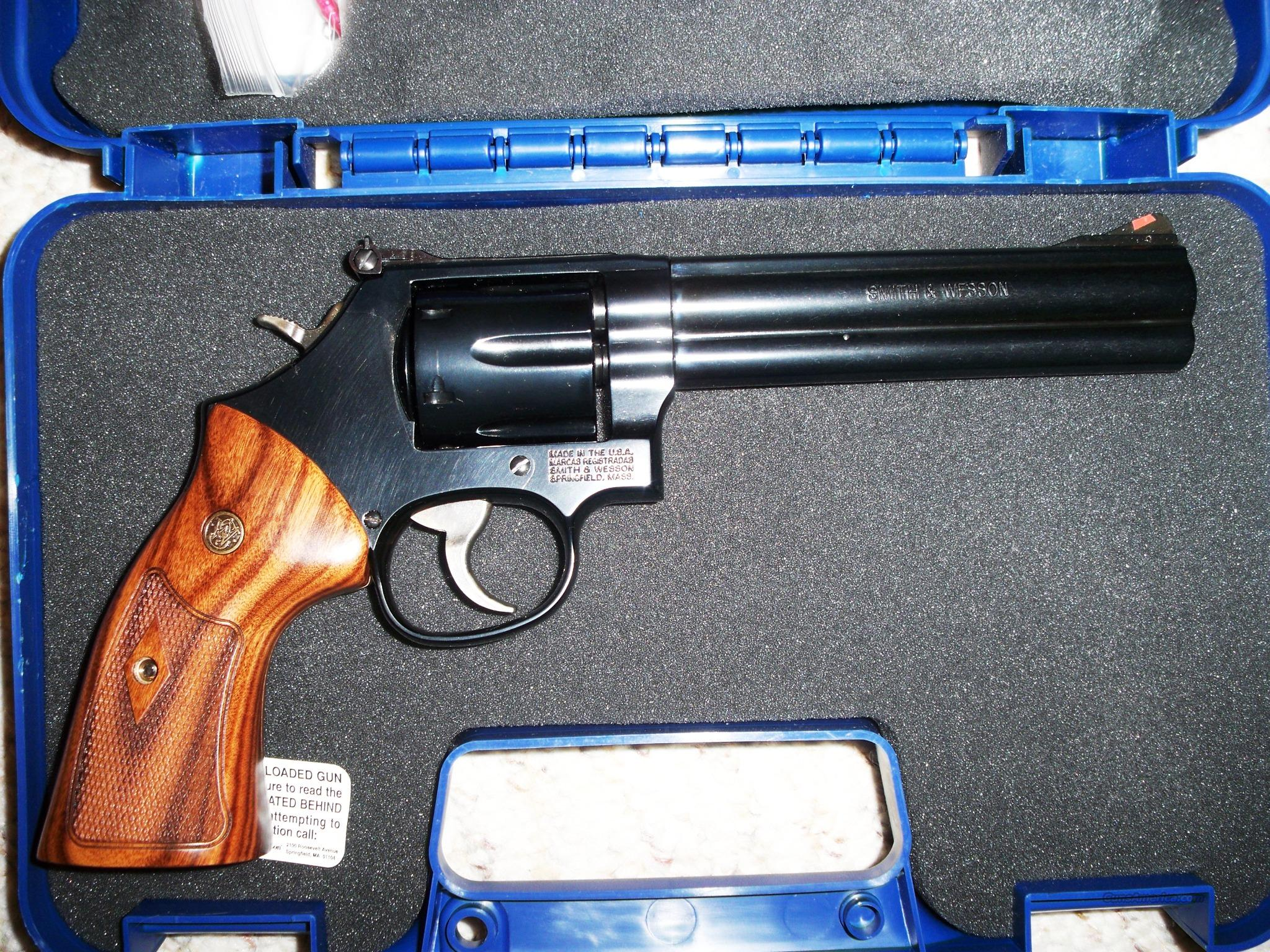 Smith & Wesson Model 586 6 Inch Barrel 357 Magnum  Guns > Pistols > Smith & Wesson Revolvers > Full Frame Revolver