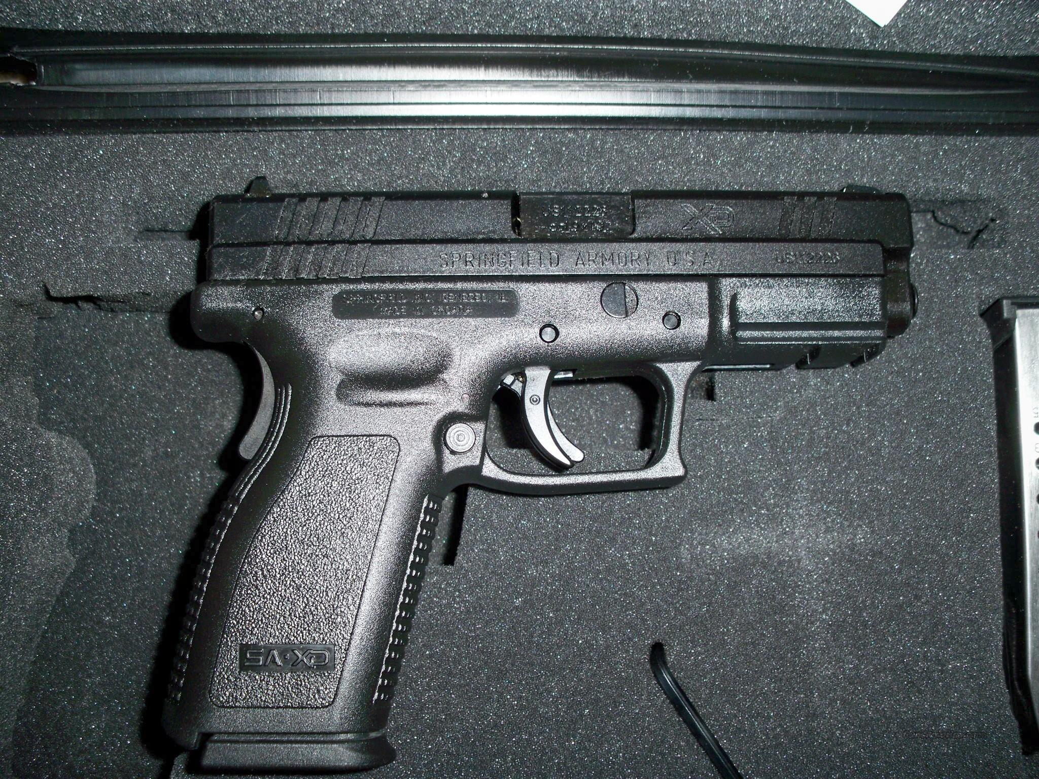 Springfield XD9 9mm 16rd 2 Mags and Accessories   Guns > Pistols > Springfield Armory Pistols > XD (eXtreme Duty)