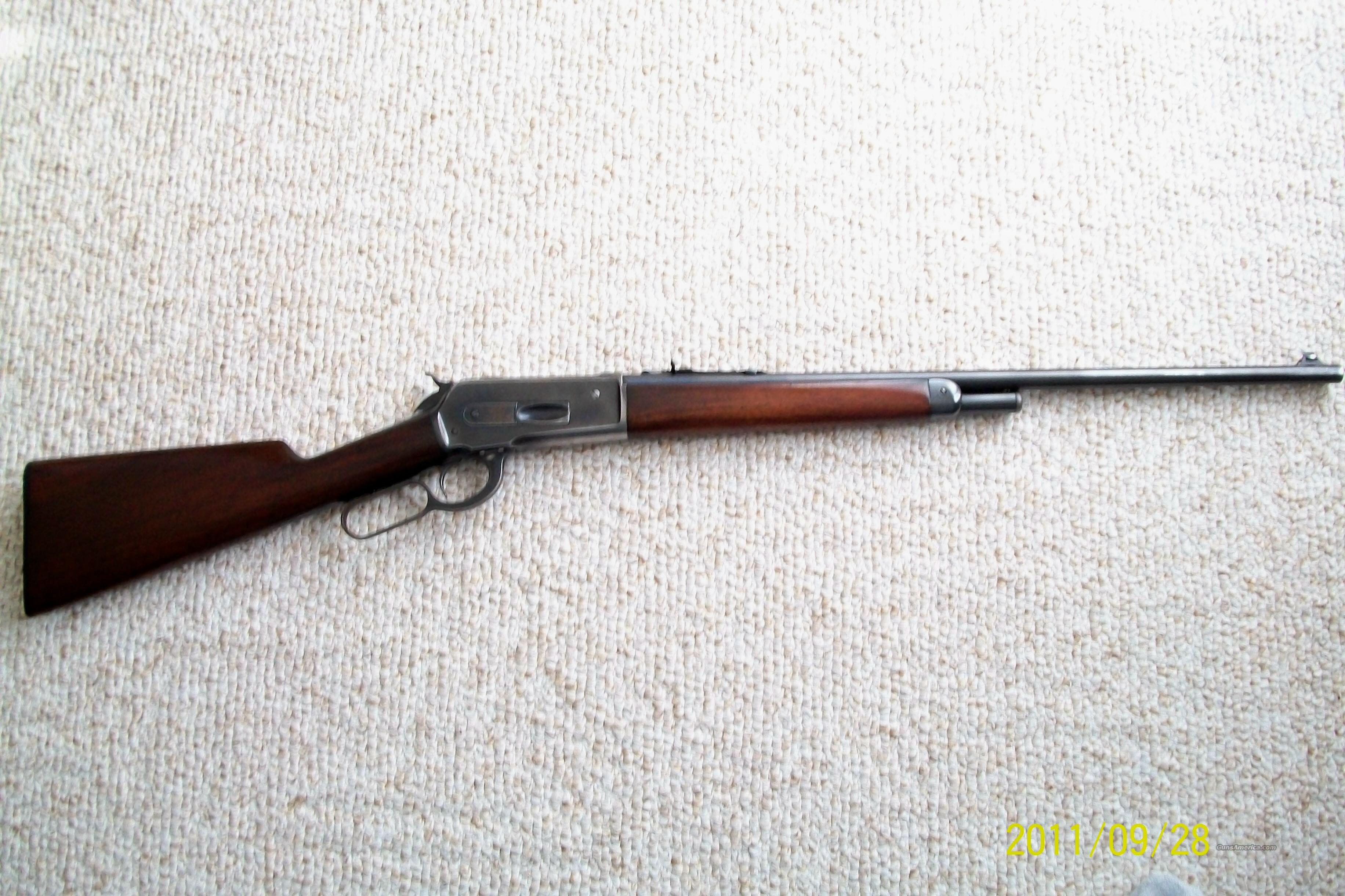 Winchester 1886  with Cody Letter  Guns > Rifles > Winchester Rifles - Modern Lever > Other Lever > Pre-64