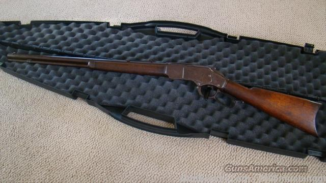 Winchester 1873 Round Barrel, Cody Letter  Guns > Rifles > Antique (Pre-1899) Rifles - Ctg. Misc.