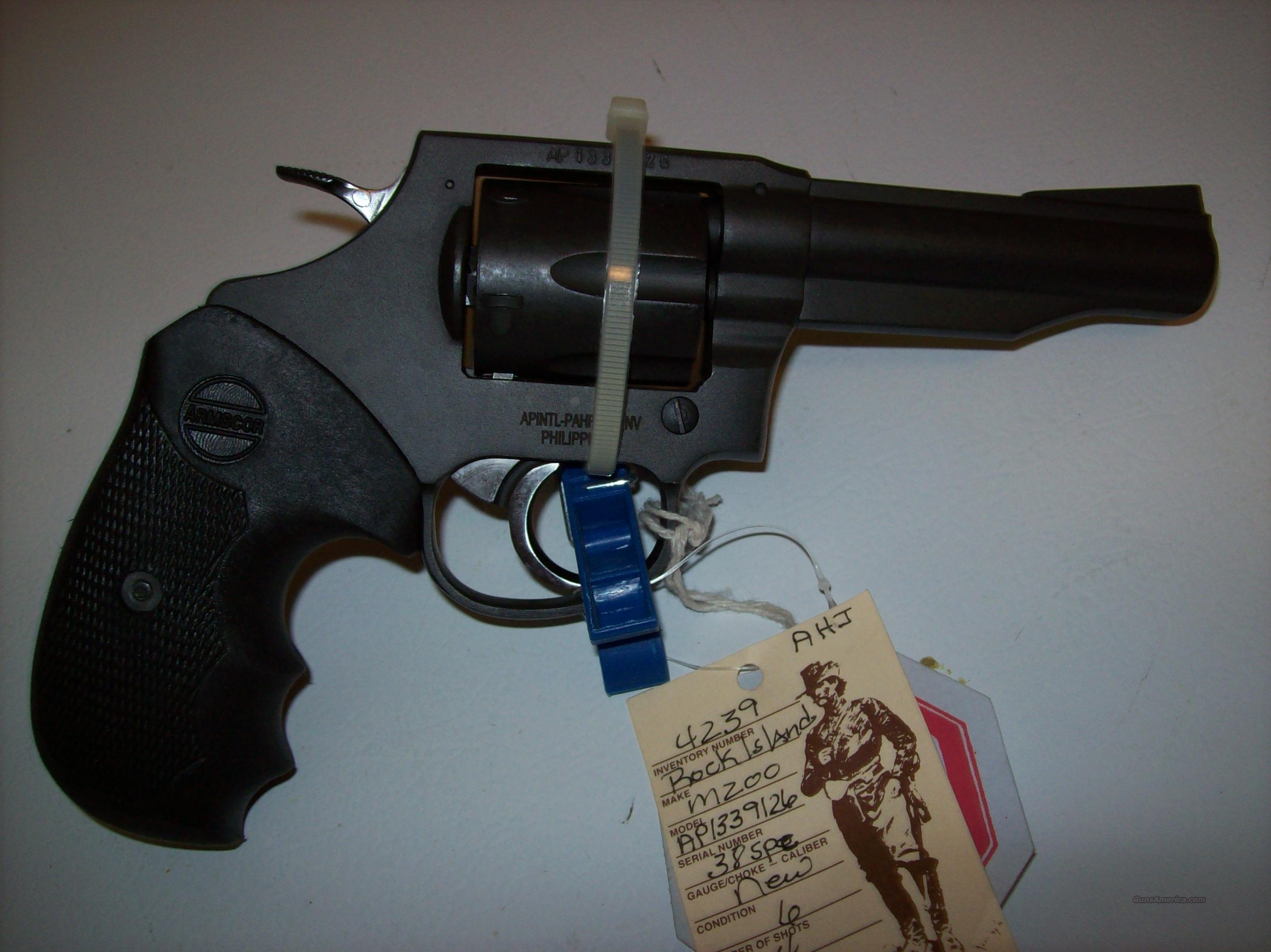 Rock Island Armory .38 Special Revolver by Armscorp  Guns > Pistols > Armscor Pistols