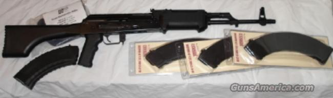IO Inc AK47-C With Polymer Stock 4 Mags  Guns > Rifles > AK-47 Rifles (and copies) > Full Stock