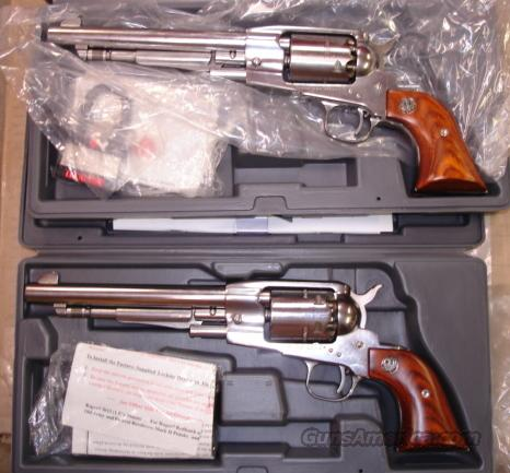 Ruger Old Army SS consecutive pair 7.5 FS  Guns > Pistols > Ruger Cap & Ball Revolvers