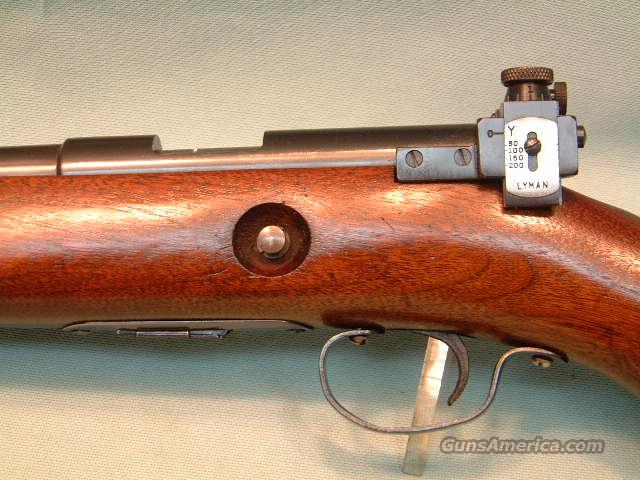 Winchester 69A Target w/Lyman 57EW Rear Sight  Guns > Rifles > Winchester Rifles - Modern Bolt/Auto/Single > Other Bolt Action