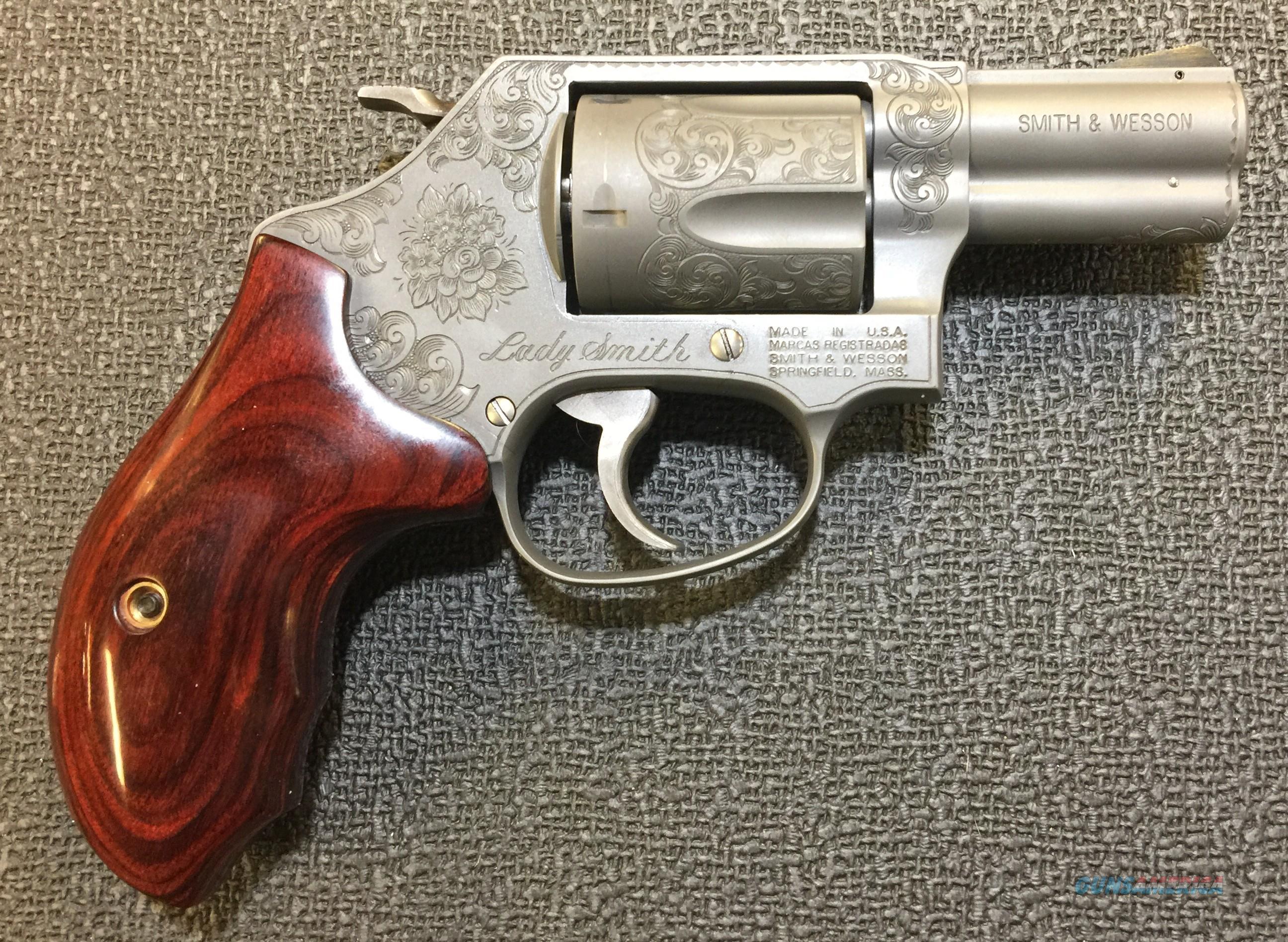S&W M60-14 Ladysmith .357 Mag Custom Engraved by James White  Guns > Pistols > Smith & Wesson Revolvers > Small Frame ( J )