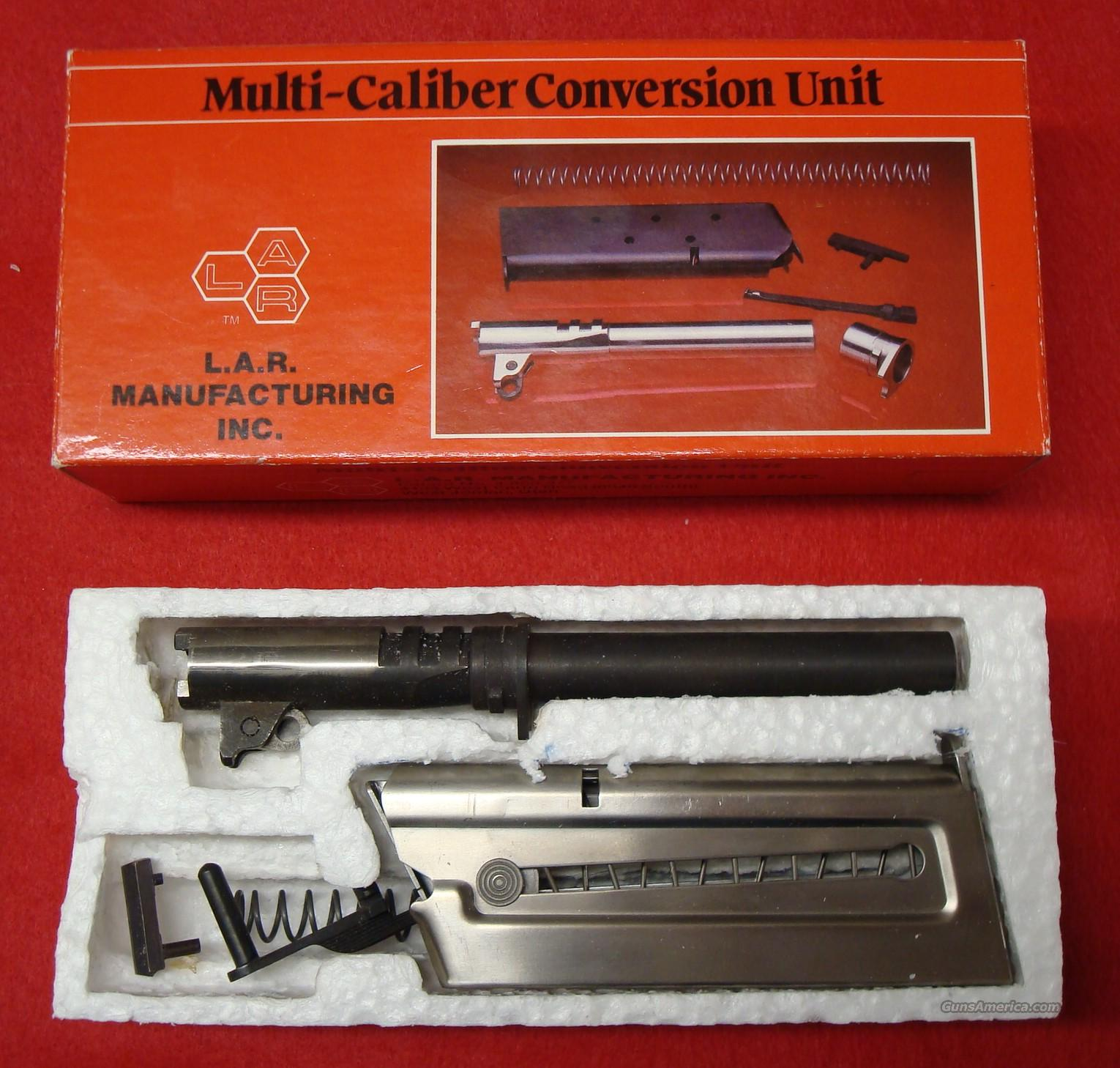 LAR Grizzly .357 Magnum Conversion Kit  Guns > Pistols > LAR/Grizzly Mfg. Co. Pistols