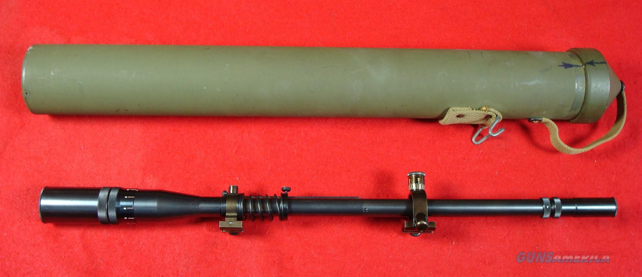 World War II U.S.M.C. Unertl Sniper Scope, Excellent Condition  Non-Guns > Scopes/Mounts/Rings & Optics > Rifle Scopes > Fixed Focal Length