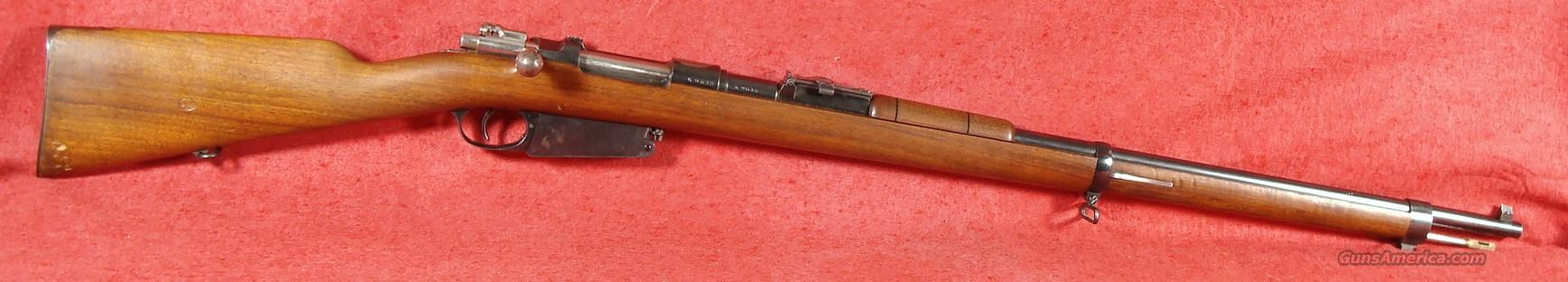 Mauser Argentine Model 1891 Rifle, 7.65MM Mauser, Excellent Condition!  Guns > Rifles > Mauser Rifles > German