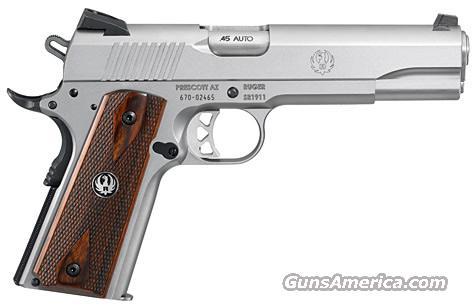 Ruger SR1911 .45 ACP, NEW!  Guns > Pistols > Ruger Semi-Auto Pistols > 1911