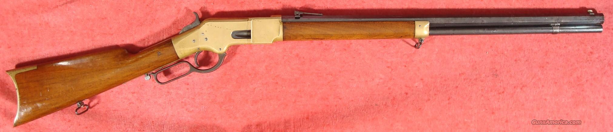 Winchester 1866 Rifle .44 RF Henry marked  Guns > Rifles > Winchester Rifles - Pre-1899 Lever