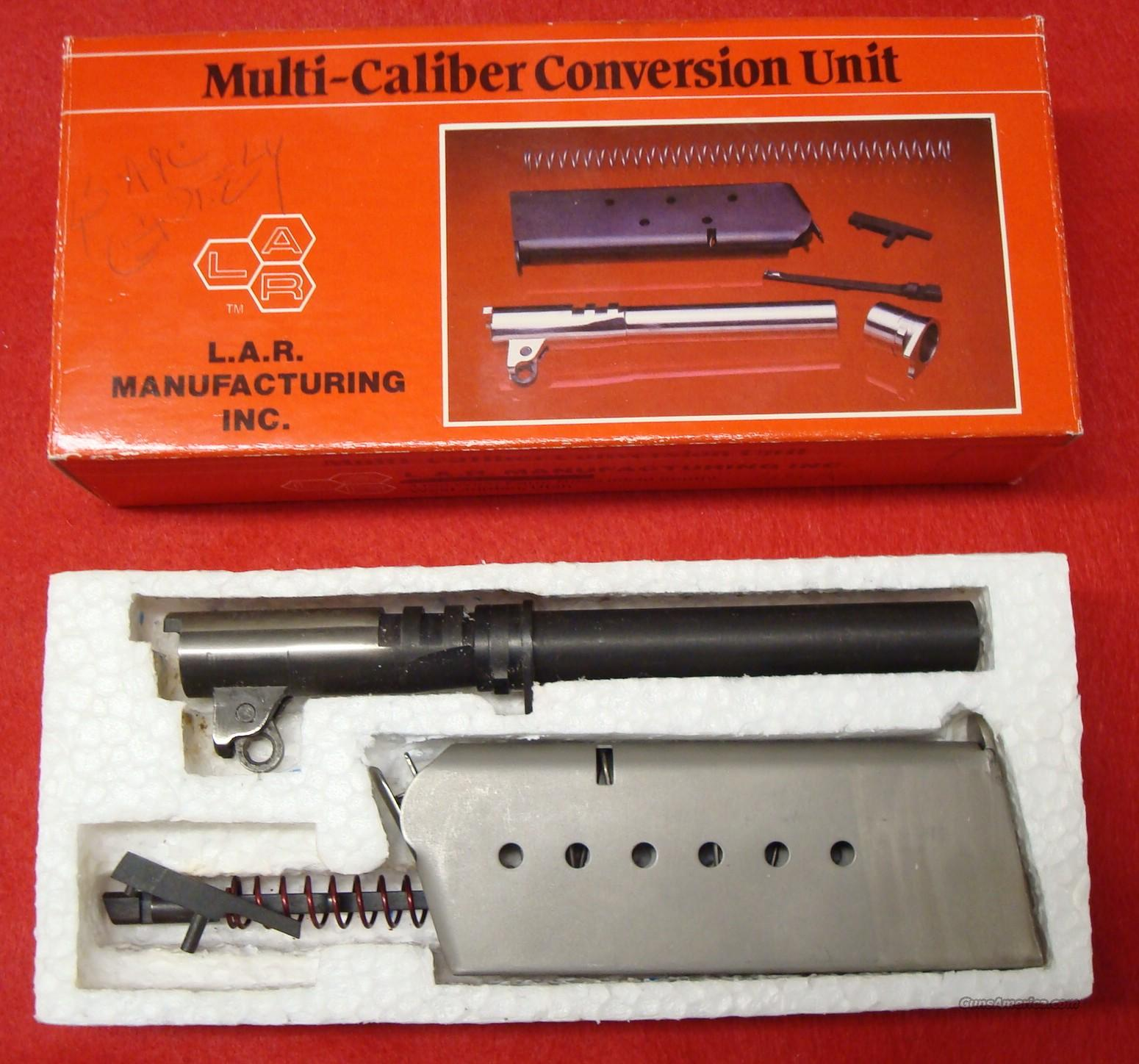 LAR Grizzly .45 ACP Conversion Kit  Guns > Pistols > LAR/Grizzly Mfg. Co. Pistols
