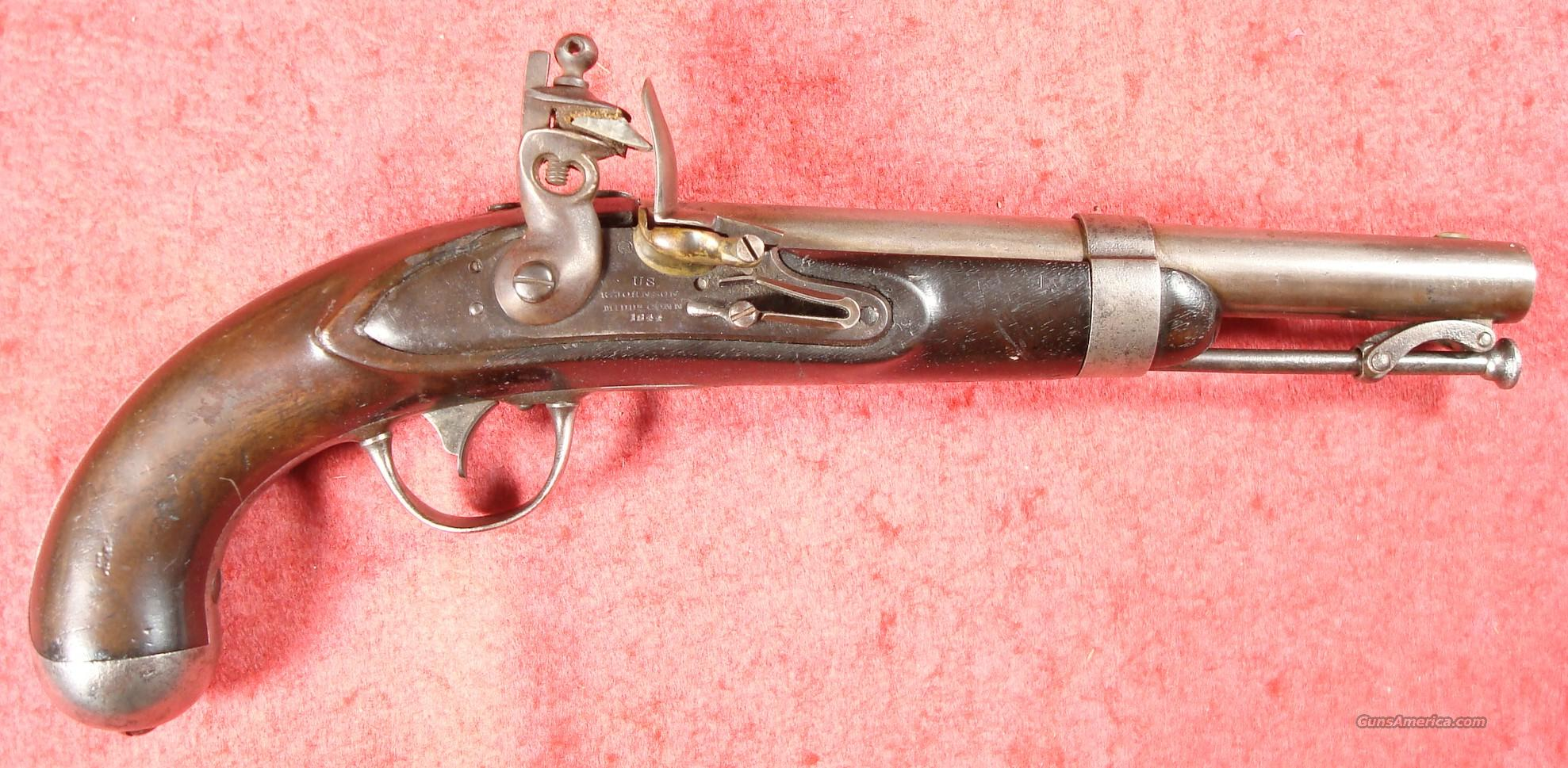 US M-1836 Flintlock Pistol by Robert Johnson  Guns > Pistols > Muzzleloading Pre-1899 Pistols (flint)