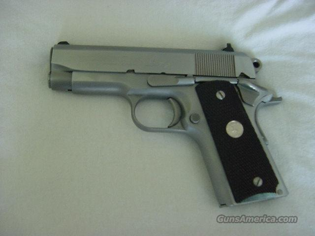 Colt Officers MK IV stainless  Guns > Pistols > Colt Automatic Pistols (1911 & Var)