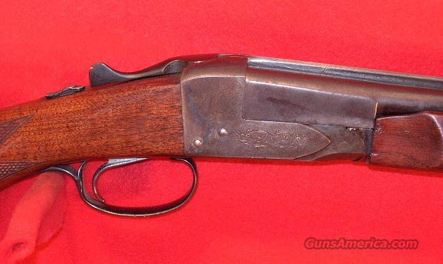 SAVAGE FOX Model B-ST .410 SXS shotgun, 1956   Guns > Shotguns > Fox Shotguns