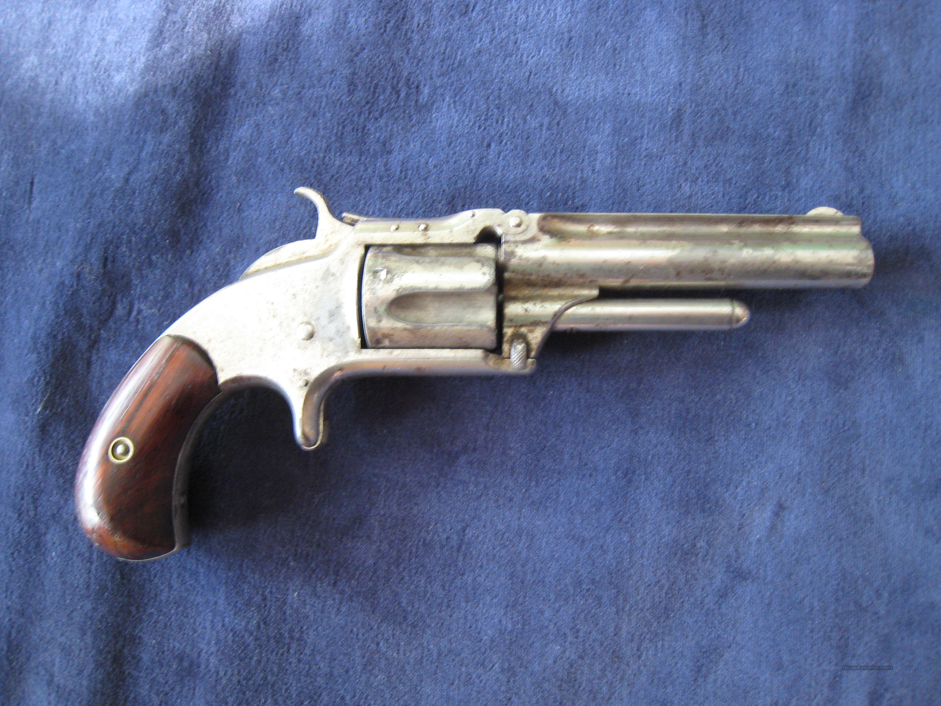 SMITH & WESSON MODEL 1  TIP UP REVOLVER  Guns > Pistols > Smith & Wesson Revolvers > Pre-1899