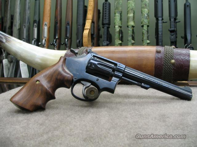 Smith and Wesson Model 17 22lr  Guns > Pistols > Smith & Wesson Revolvers > Full Frame Revolver