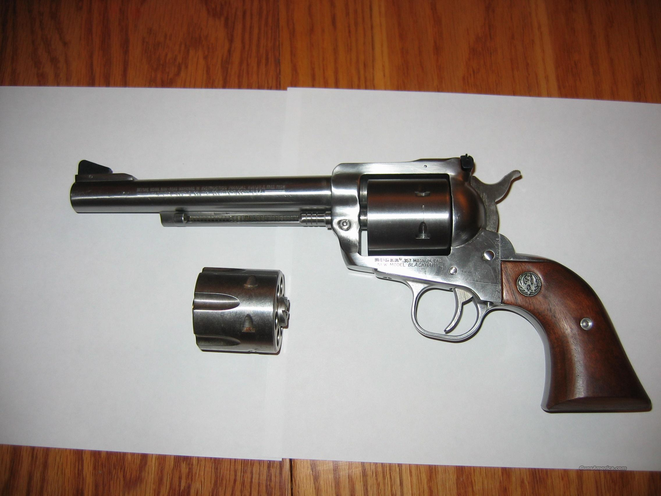SS Ruger Blackhawk w/ Phillips & Rodgers Cylinder  Guns > Pistols > Ruger Single Action Revolvers > Blackhawk Type