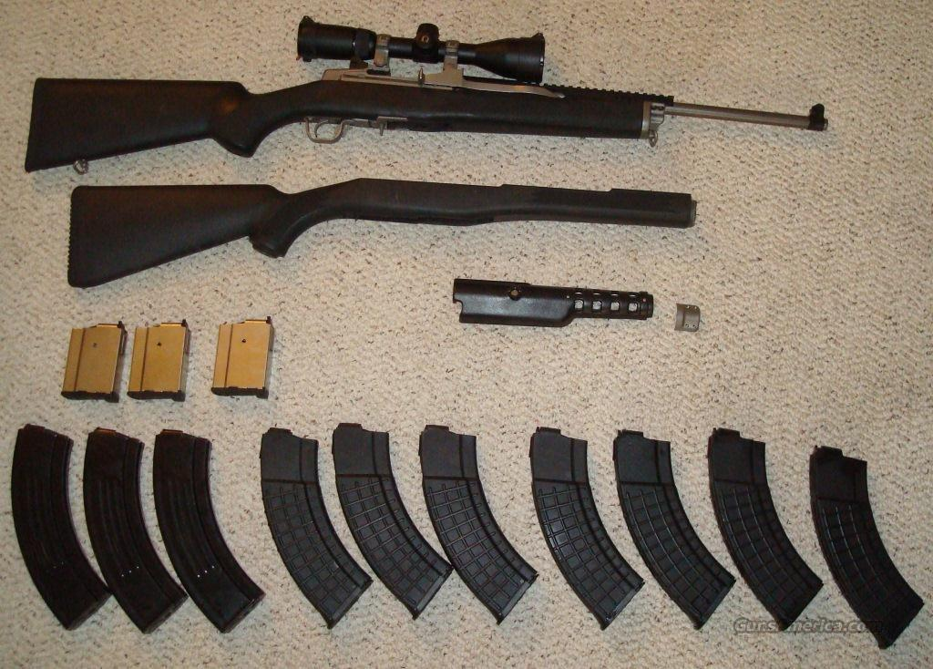 Mini-Thirty Series 581  Guns > Rifles > Ruger Rifles > Mini-14 Type