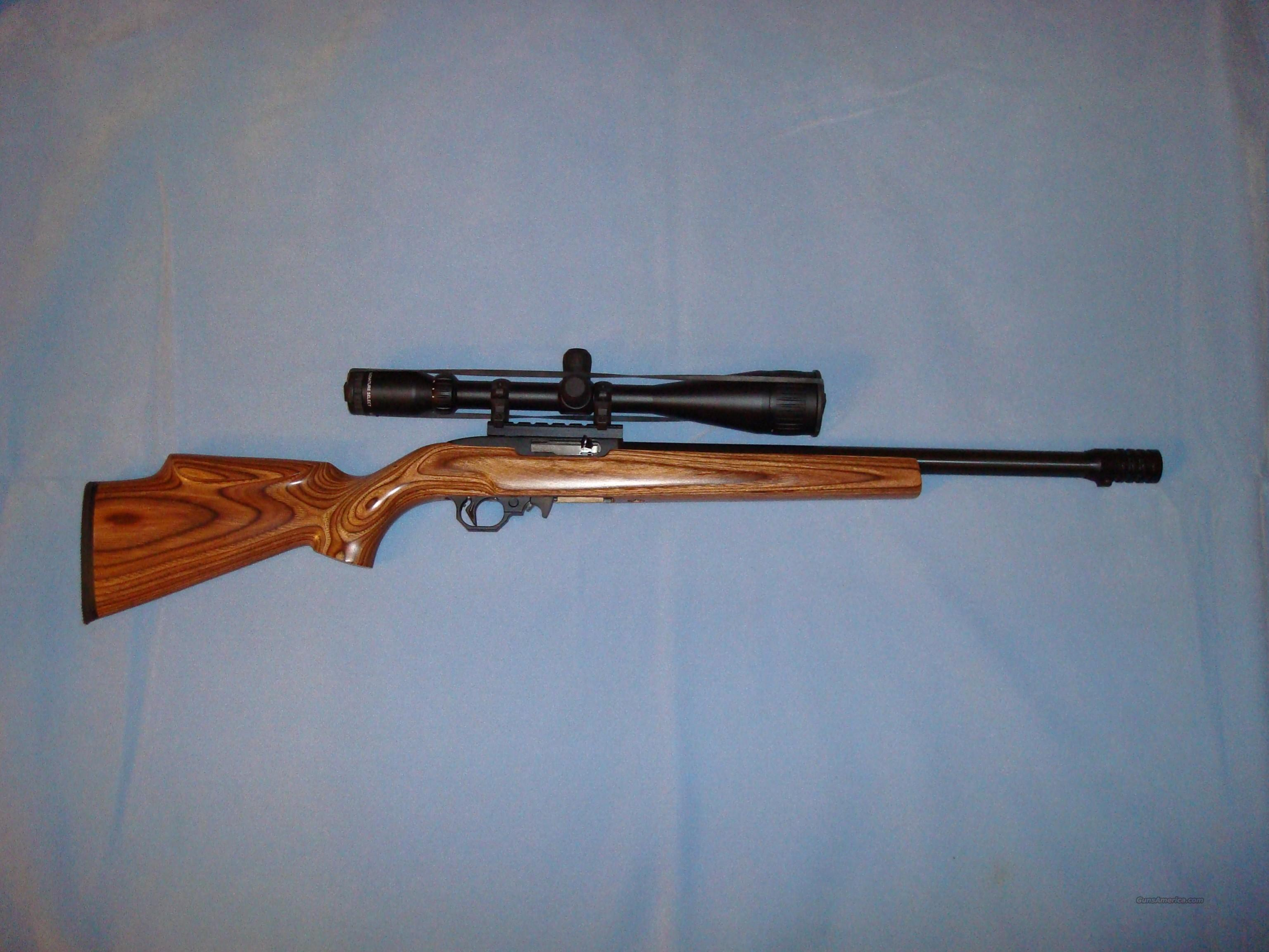 Customized 10/22 CCI Stinger Throat  Guns > Rifles > Ruger Rifles > 10-22