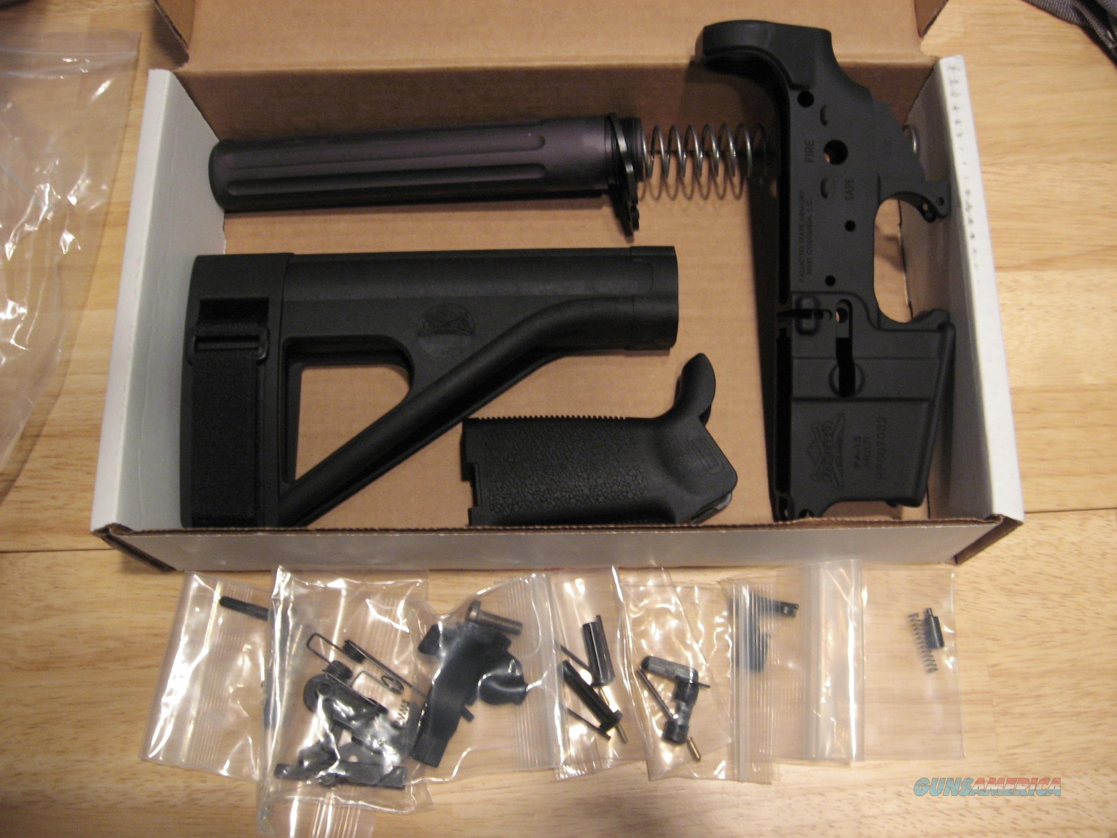 Palmetto State Armory M.O.E. Pistol Lower Build Kit   Guns > Pistols > Parts Guns - Pistols