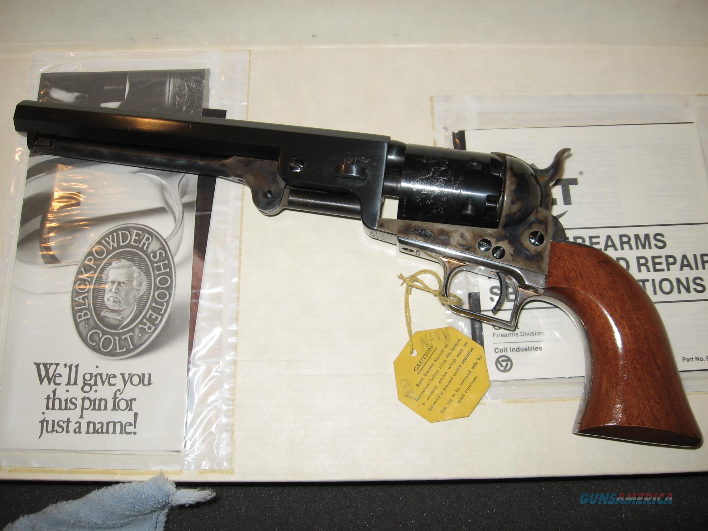 Colt's 1851 Navy, 2nd Gen, Black Powder Revolver  Guns > Pistols > Colt Percussion Revolver - Modern