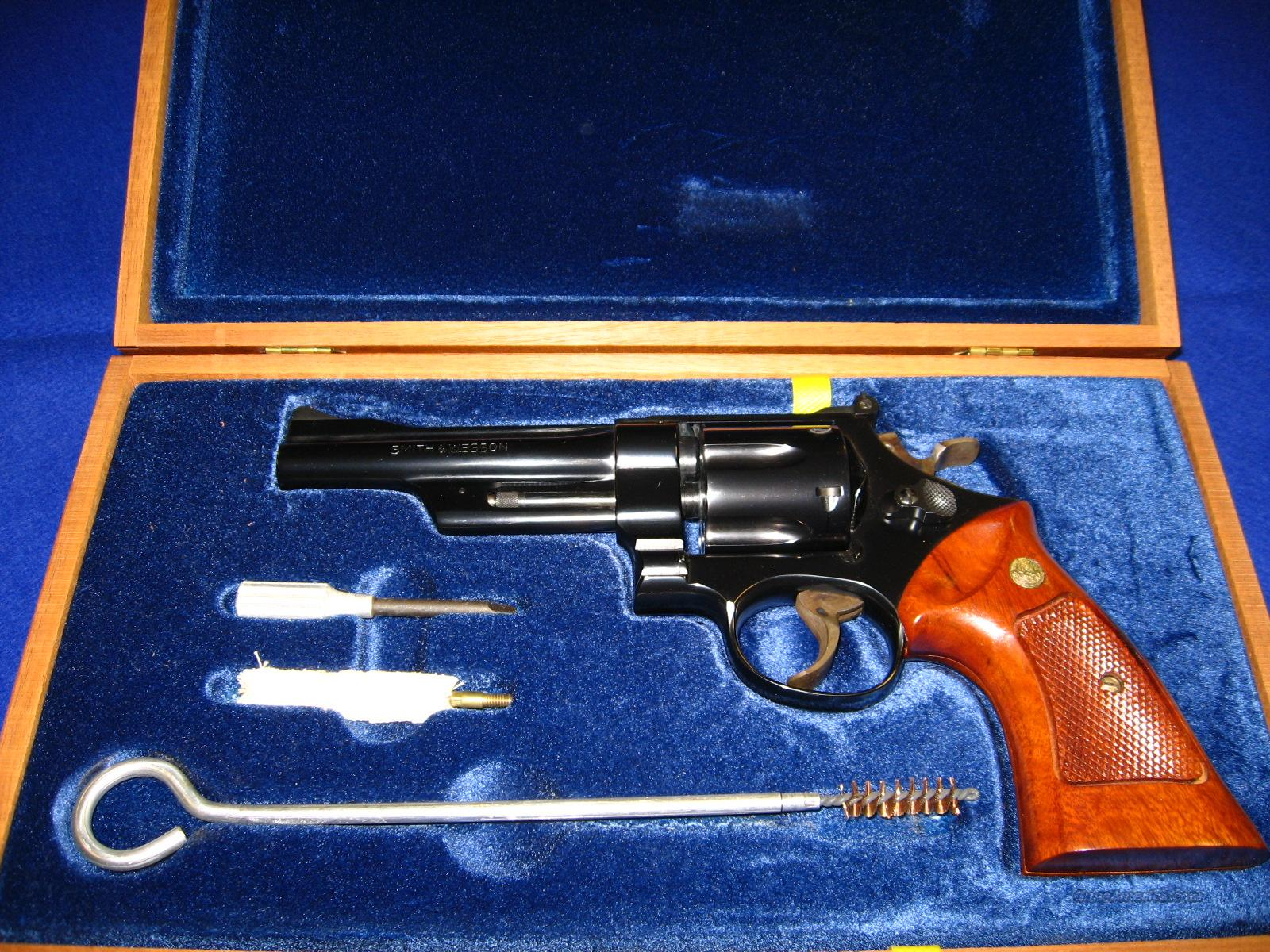 "S&W 27-2 .357 5"" Cased  Guns > Pistols > Smith & Wesson Revolvers > Full Frame Revolver"
