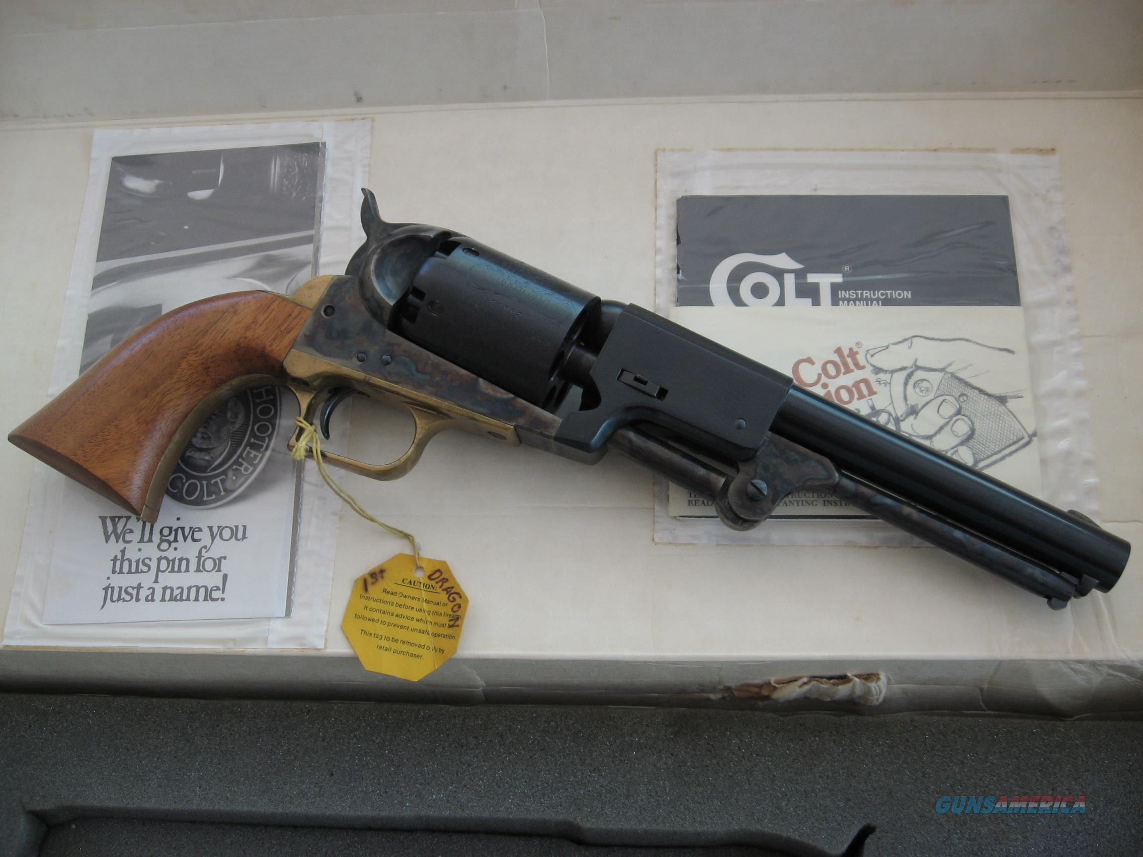Colt's 1st Dragoon, 2nd Gen, Black Powder Revolver  Guns > Pistols > Colt Percussion Revolver - Modern