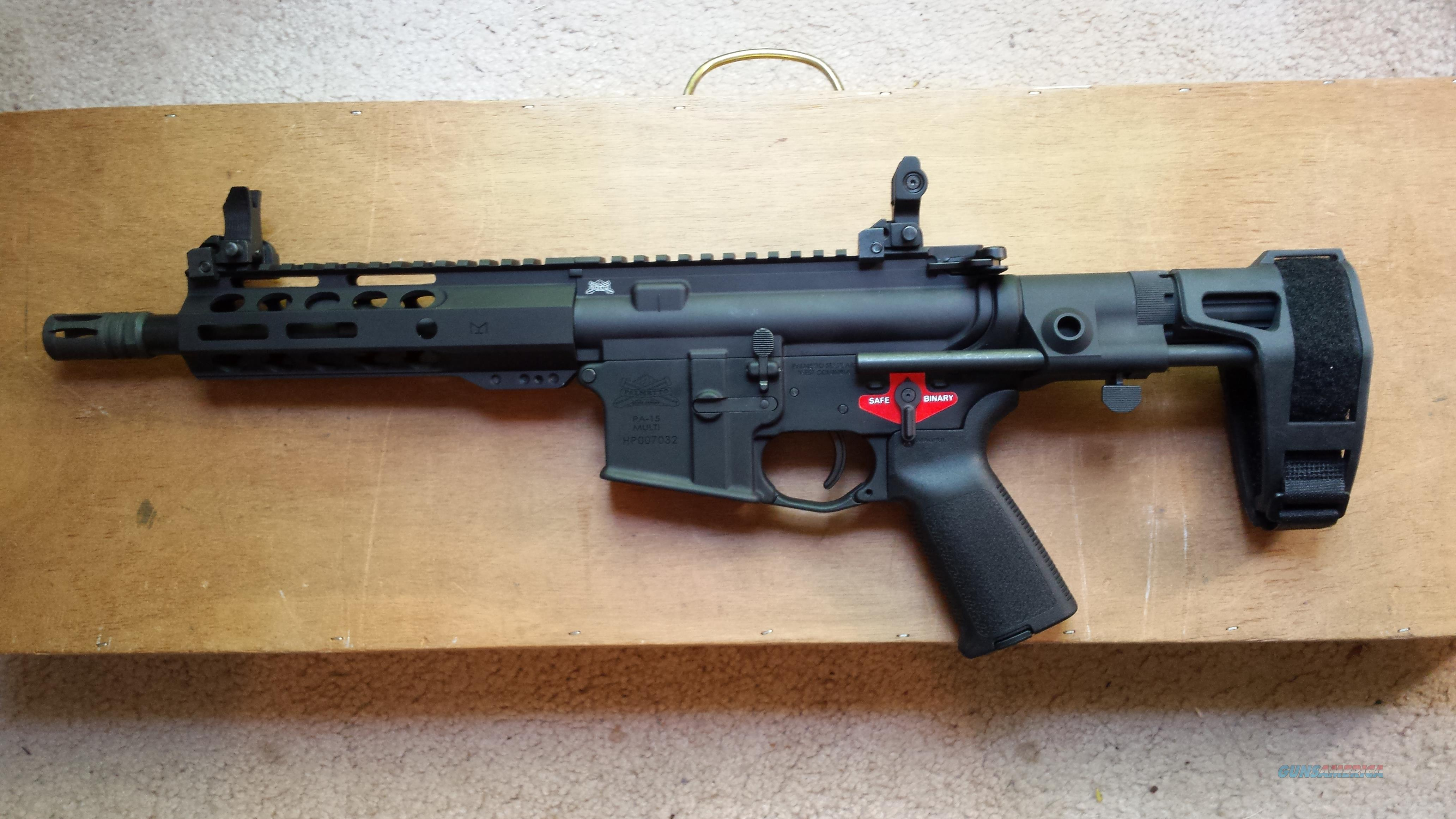 "Palmetto State Armory PA-15, Multi Cal Receiver & 8.5"", .300AAC Upper Receiver  Guns > Rifles > AR-15 Rifles - Small Manufacturers > Complete Rifle"