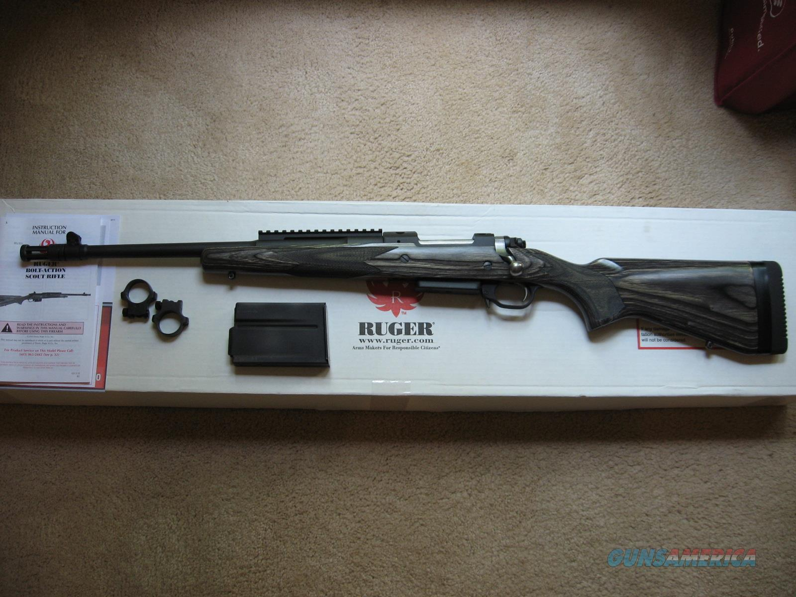 Ruger M77LGS Scout Rifle, Left-Hand  Guns > Rifles > Ruger Rifles > Model 77