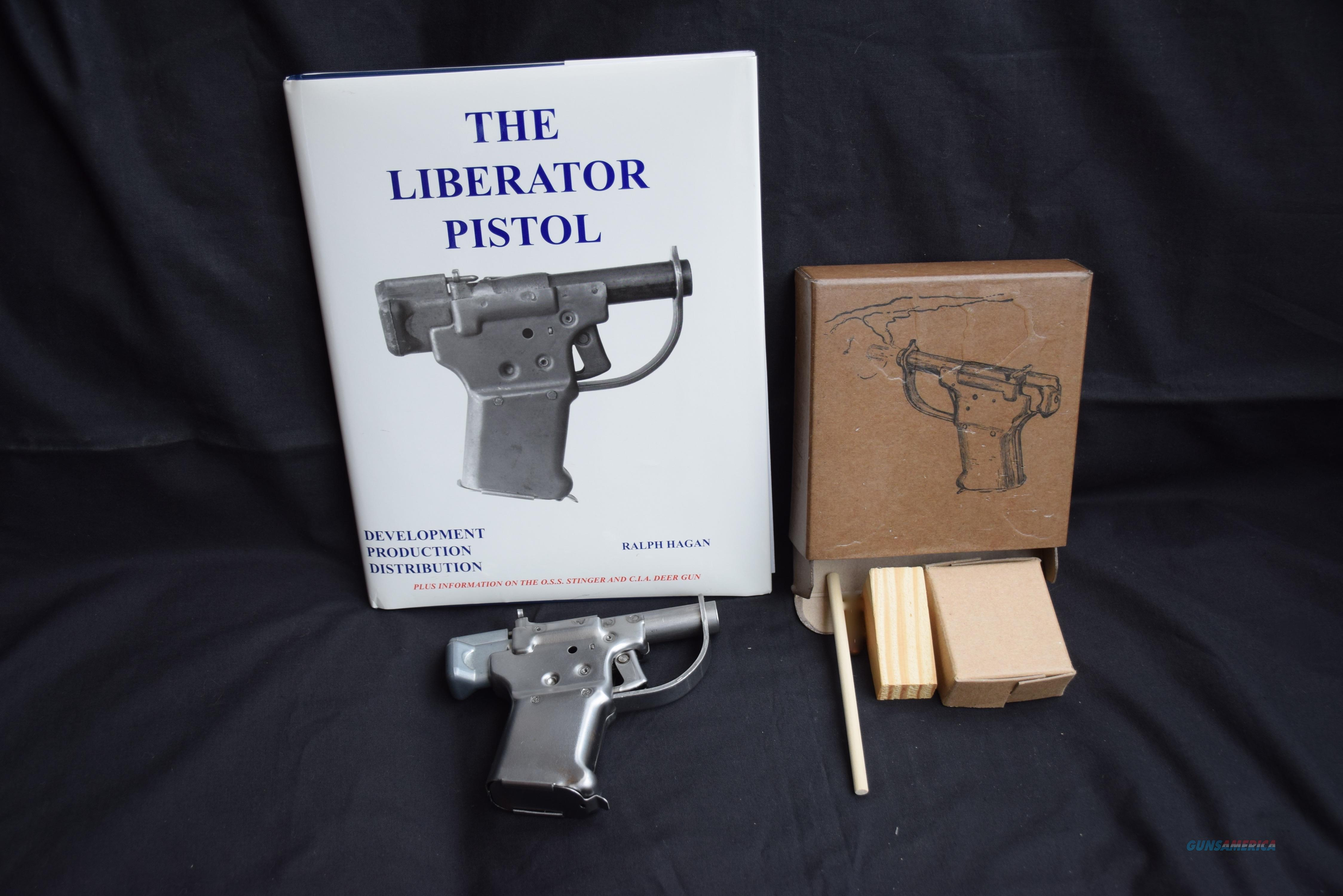 LIBERATOR WWII NON-FIREING DISPLAY PISTOL   Guns > Pistols > Military Misc. Pistols US > Other