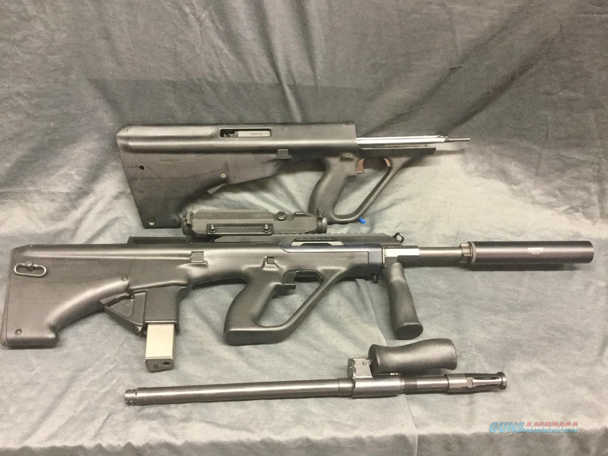 9mm AUG Conversion with a 223 AUG and Factory Scope  Guns > Rifles > Steyr Rifles