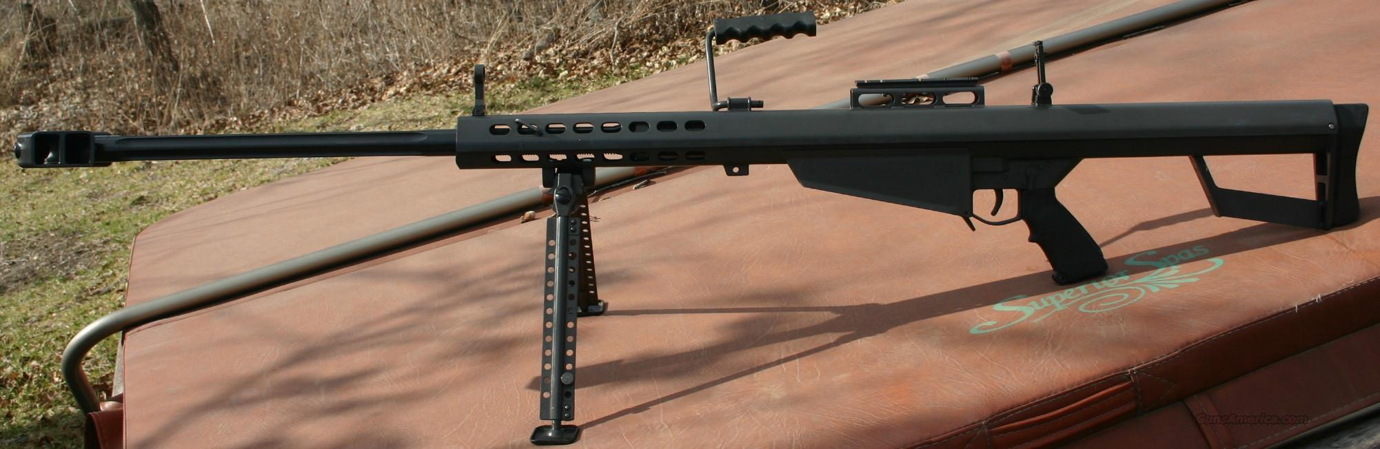 82A1  SEMI AUTO 50 BMG  Guns > Rifles > Barrett Rifles