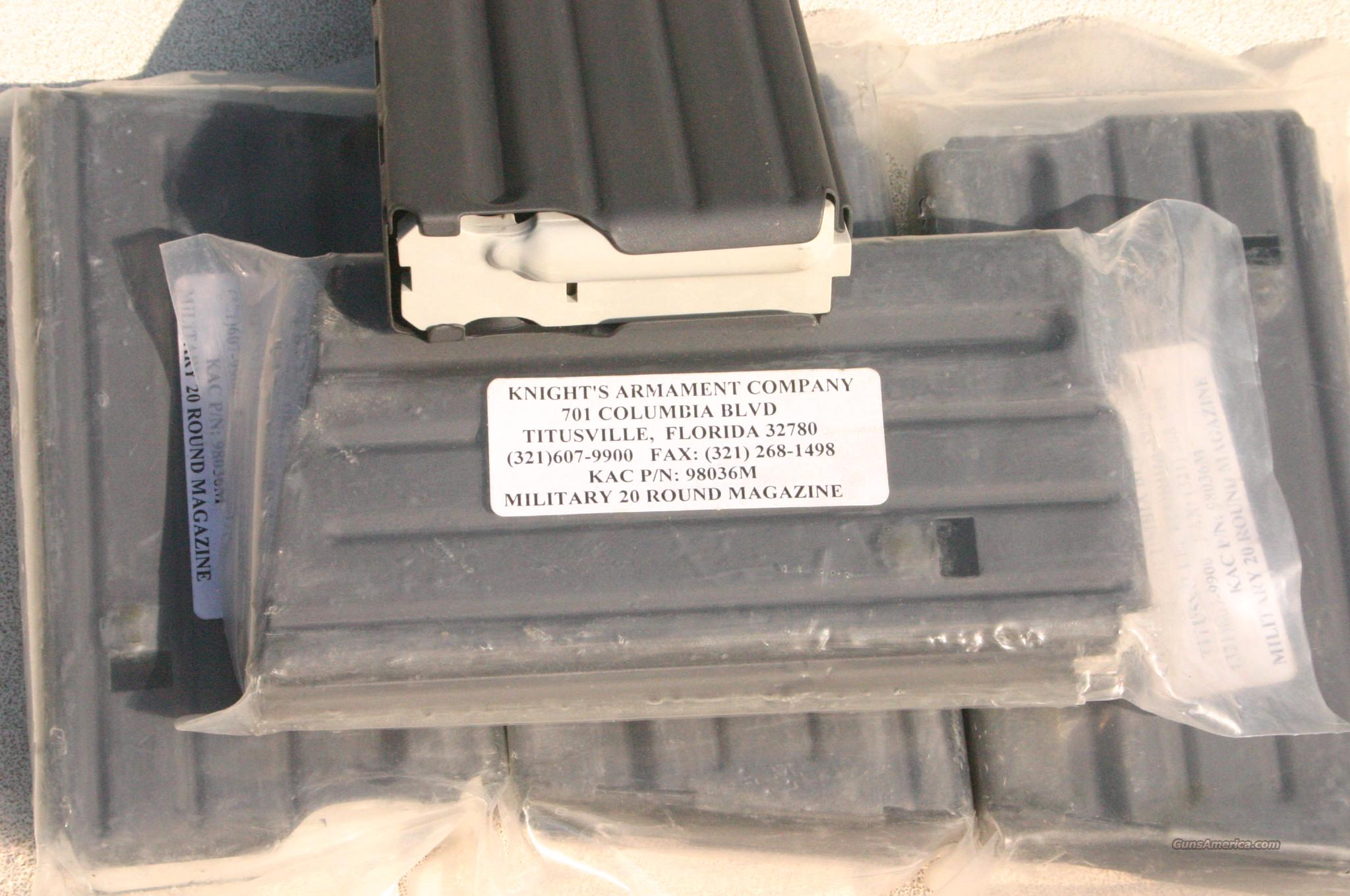 KNIGHTS ARMAMENT SR-25 MAG  Non-Guns > Magazines & Clips > Rifle Magazines > Other