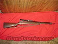 REMINGTON O3A4 SNIPER RIFLE  Guns > Rifles > Military Misc. Rifles US > Sniper Variants