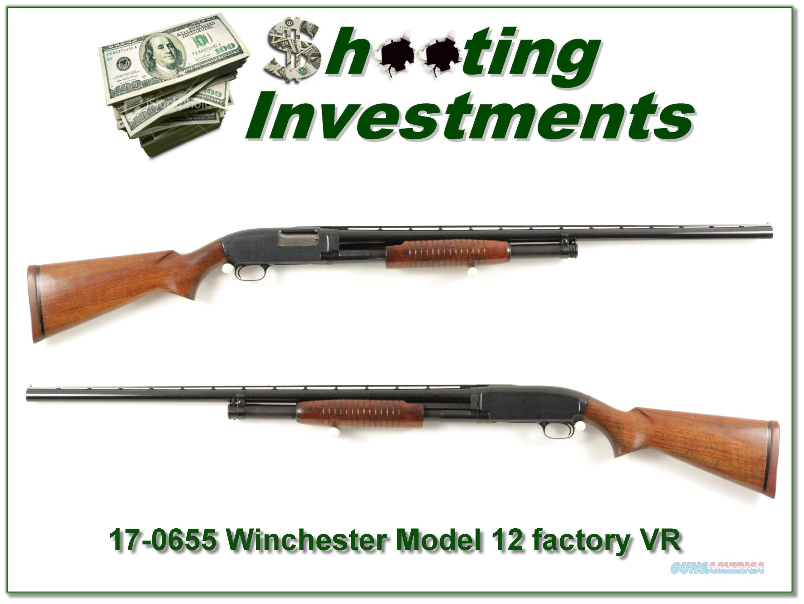 Winchester Model 12 3in1957 with factory Trap Rib  Guns > Shotguns > Winchester Shotguns - Modern > Pump Action > Trap/Skeet