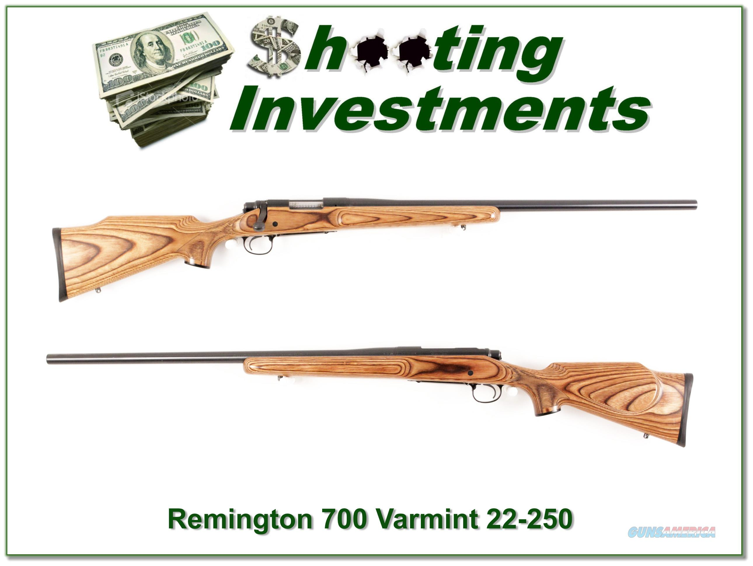 Remington 700 Varmint Special 22-250 Rem Laminated  Guns > Rifles > Remington Rifles - Modern > Model 700 > Sporting