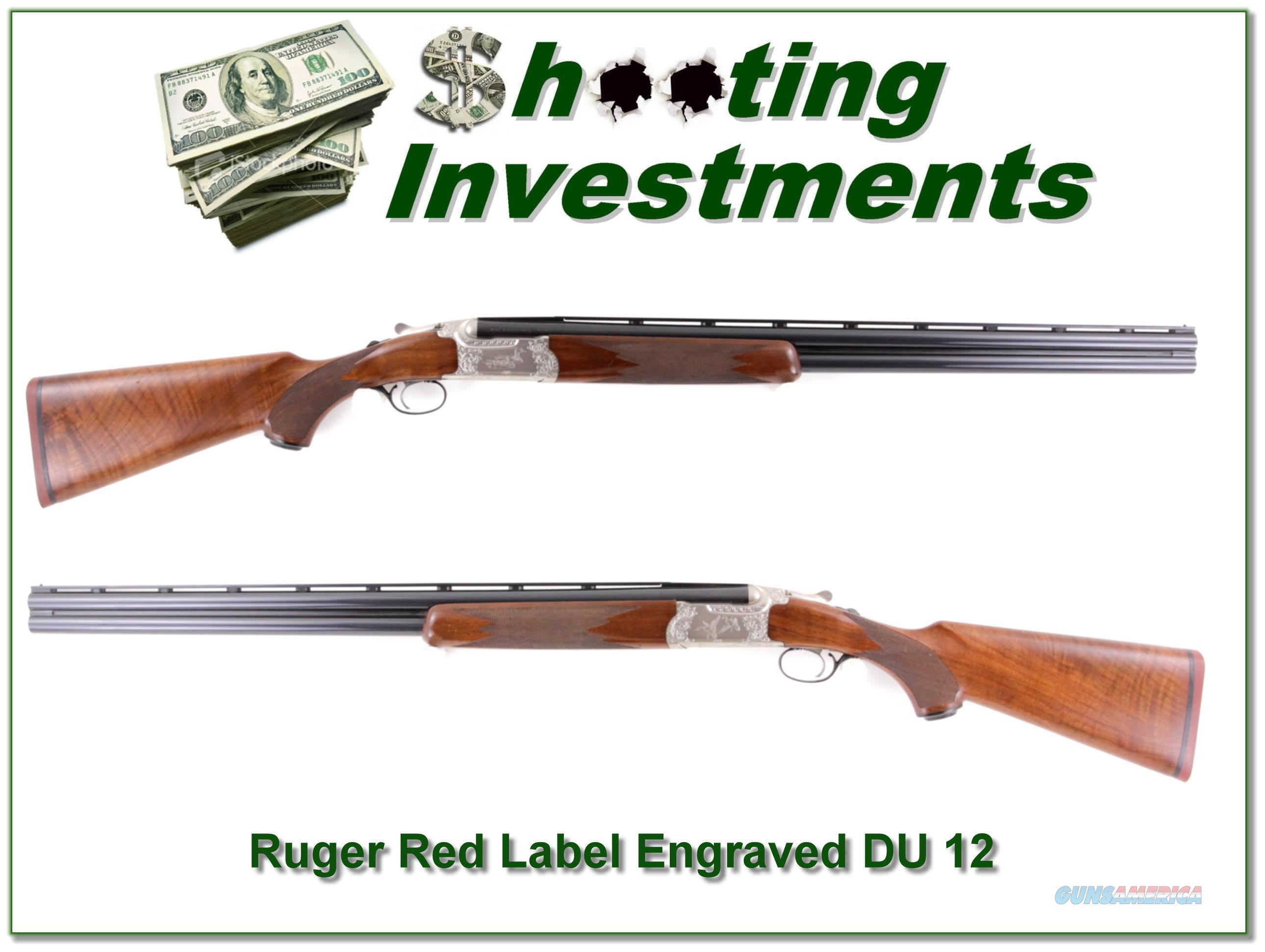 Ruger Red Label 1984 DU Engraved 12 Ga 28in  Guns > Shotguns > Ruger Shotguns > Hunting